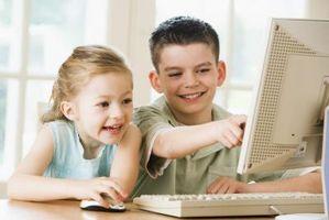 Cómo enseñar a los niños a usar una computadora