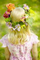 Tiara de flor DIY