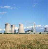 Usos del calor de una reacción Nuclear para producir energía eléctrica