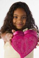 Cajas para tarjetas de San Valentín para chicas