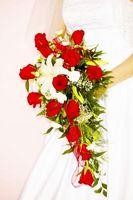 Ideas de ramo de novia en cascada