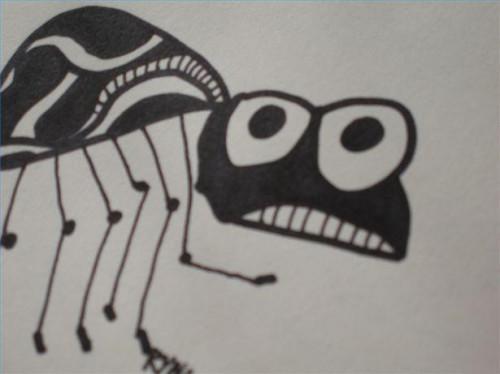 Cómo dibujar una araña