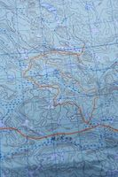 Montaje de mapas topográficos