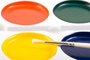 Cómo flotar Color con pintura acrílica