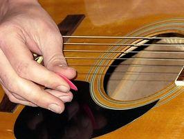 Información de acompañamiento la guitarra