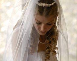La historia de velos de novia