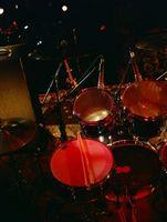 Cómo afinar un tambor de Tom