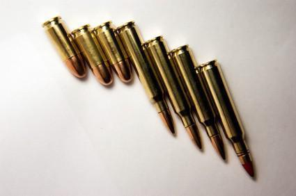Especificaciones de recarga de munición