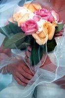 Rosa boda Bouquet Ideas