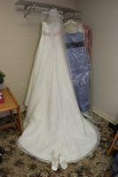 Cómo evitar los vestidos de boda gire amarillo
