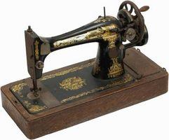 ¿Cómo puedo saber cuánto es una máquina de coser antigua