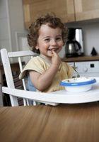 Primeros alimentos para un bebé de 12 meses