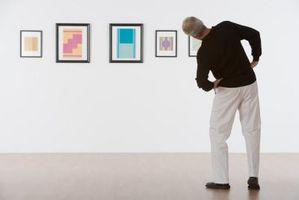 Exposición individual de arte tema Ideas