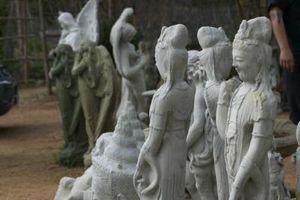 Cómo hacer estatuas de mortero