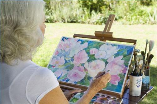 Cómo pintar un paisaje con acuarelas