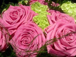 Cómo hacer flores de boda