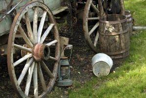 Cómo restaurar una rueda del remolque de madera