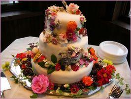 Centros de mesa de boda comestibles