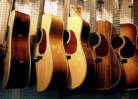 Cómo hacer un puente casero de guitarra ajustable