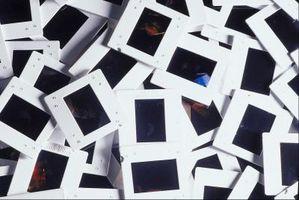 Cómo cambiar una foto a una diapositiva de 35mm