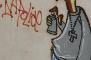 Cómo hacer mi propio arte Graffiti