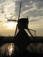 ¿Cómo grano molinos de viento de trabajo?