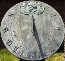 ¿Cómo funciona un reloj de sol?