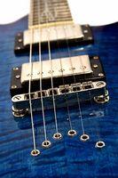 Instrucciones paso a paso en encordar una guitarra