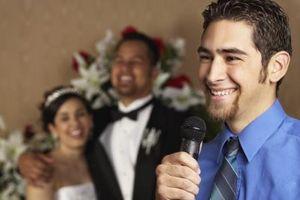 Cómo escribir un discurso de boda fácil