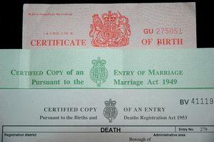Cómo buscar certificados de nacimiento