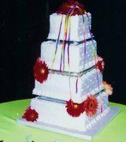 Cómo hacer un pastel de boda de cuatro niveles