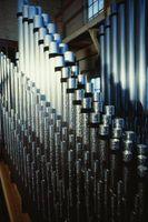 Cómo bajar el tono de un tubo de órgano