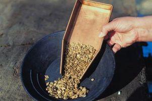 Lugares legales para Pan de oro en el Condado de Mariposa, California