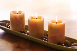 Cómo sellar una vela de cera granulada