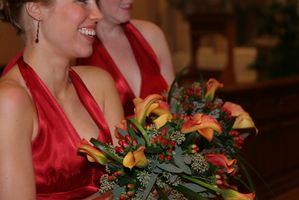 Cómo obtener más tamaño Dama de honor vestidos con una orden de acometida