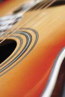 Las mejores cuerdas para una guitarra acústica de 12 cuerdas