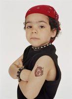 Tatuajes lavables para niños