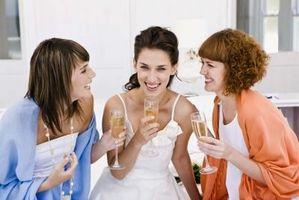 Consejos de etiqueta para boda ducha