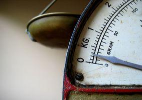 Cómo calcular los gramos y miligramos