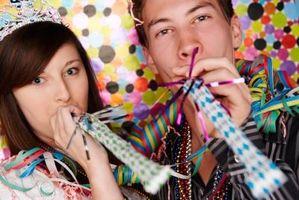 Juegos de víspera de año nuevo para los adolescentes en la escuela dominical