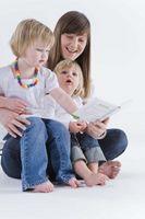 Discurso y las actividades de lenguaje para niños pequeños