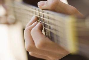 Técnicas de armónicos de guitarra