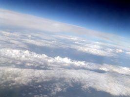 Gases que componen la atmósfera terrestre