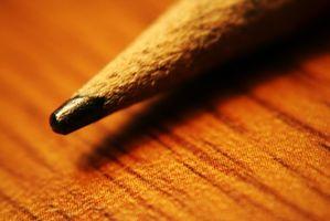 ¿Cuando dejan de poner plomo en lápices?