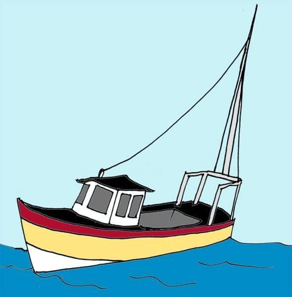 Cómo Dibujar Un Barco De Pesca Usroasteriecom