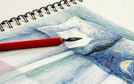 Cómo mezclar las pinturas de acrílico sobre lienzo