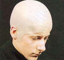 Cómo hacer un disfraz de cabeza calva