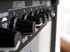 Especificaciones de amplificador Fender tubo