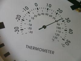 Cómo calcular la temperatura del aire