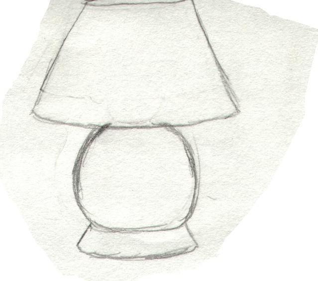 dibujar una dibujar lámpara Cómo Cómo Cómo lámpara una N0mvn8w